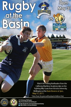 Rugby at the Basin - click to view larger image