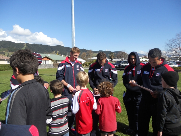 USA Eagles arrive in Nelson