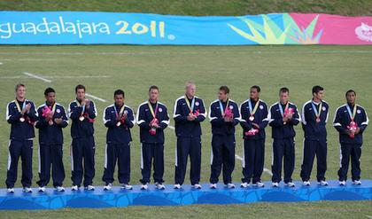 Bronze Medal Ceremony - USA Rugby